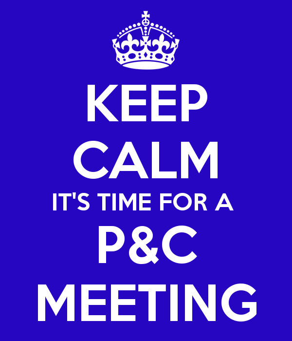 P&C Meeting this Monday!